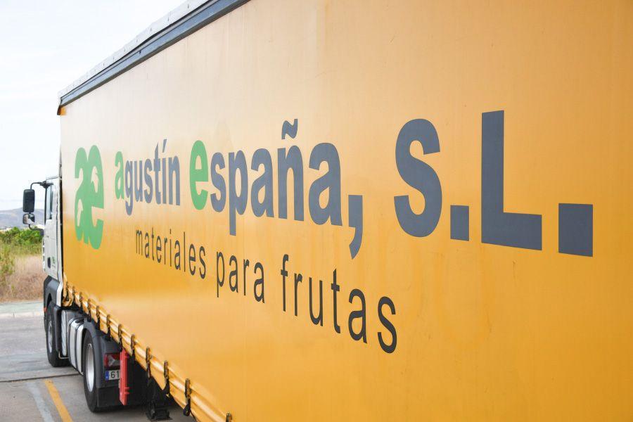 Lona trailer empresa Agustín España SL