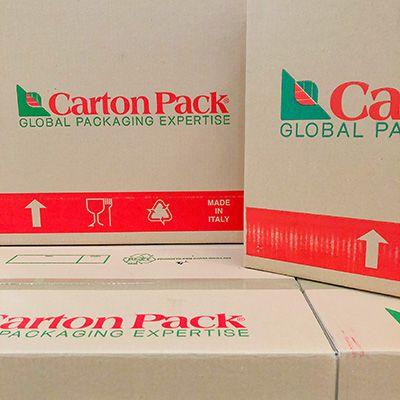 Material Cartón Pack Italia