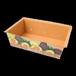 Cesta de cartón para aguacate