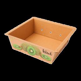 Cesta de cartón para kiwi