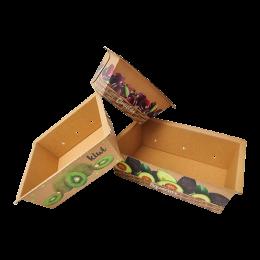 Cestas de cartón para fruta